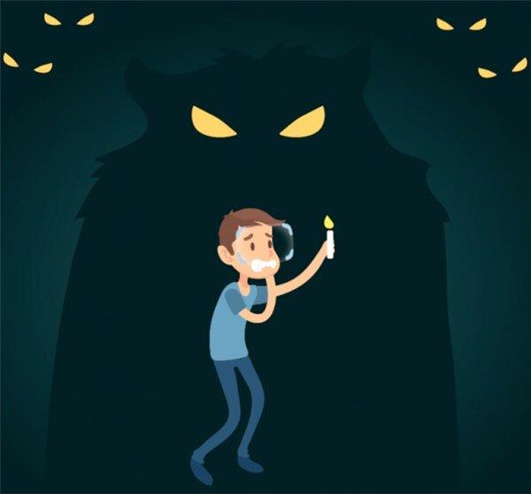 Scared - Diễn tả sợ hãi trong tiếng anh