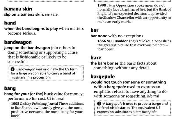 Từ điển Idioms Oxford được sắp xếp theo thứ tự Alphebet